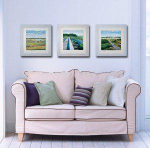 Sea Scape Triptych