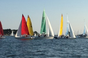 Care Dimensions I sailing races July 2015