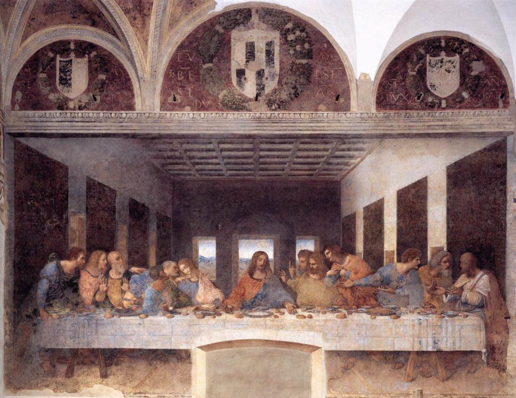My summary of Leonardo's Last Supper