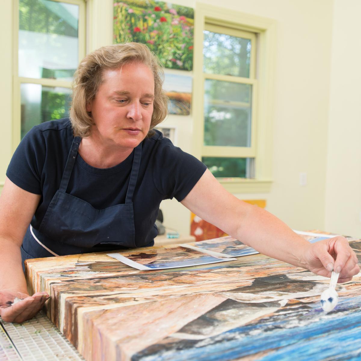 Meg Black featured on Helen Hiebert Paper Talk podcast