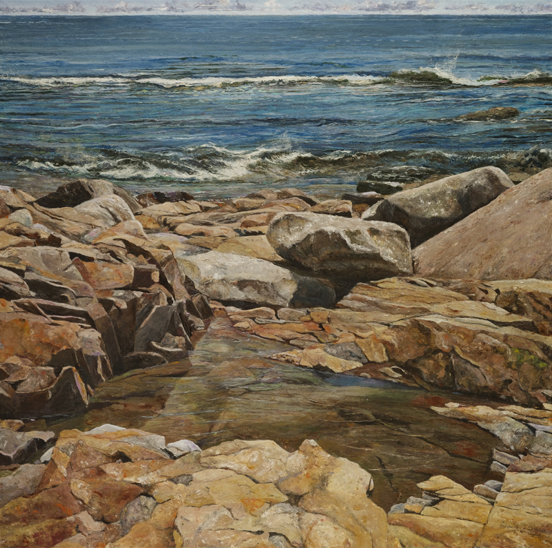 Join me for my lecture Seascape Painting in the New England Tradition